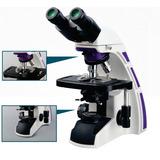 Microscópio Binocular Ótica Infinita Planacromática