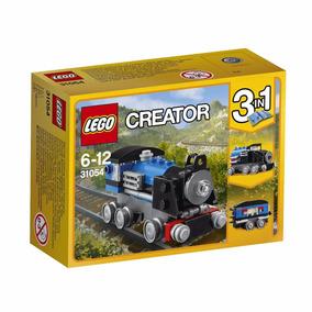 Lego Creator Vehiculos Tren Auto Rojo O Pala Mecanica Sipi