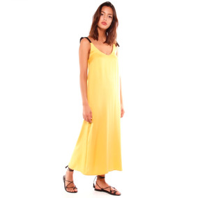 Sarkany Verbena - Vestido Mujer Largo Con Breteles