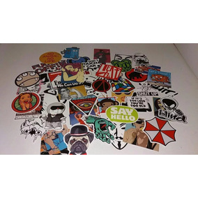 250 Adesivos Bombs Stickers