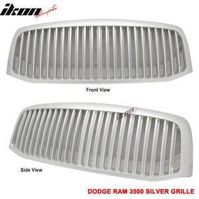 Parrilla Abs Plateada Dodge Ram 1500 2500 3500 06-08