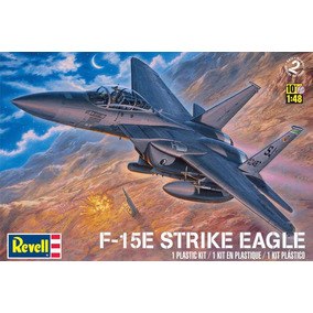 Revell - F-15e Strike Eagle Plastic Model Kit 1/48 - 5511