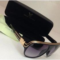 Lentes Color Negro Para Hombre Louis Vuitton - Millionaire