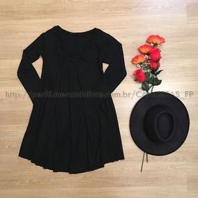 Vestido Plus Size Tamanho Grande Especial Moda Casual Midi