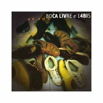 Cd Boca Livre E 14 Bis Ao Vivo - Pop Rock Romantico Mpb