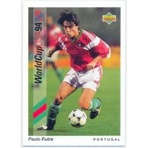 1993 Upper Deck World Cup 94 #41 Paulo Futre Portugal
