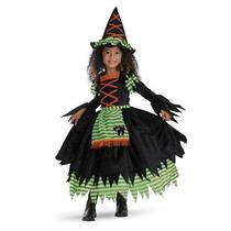 Disfraz De Bruja Para Niña Talla 2t