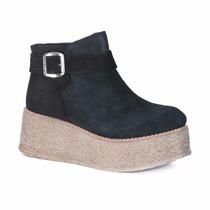 Bota Gamuza Mujer Nazaria Zapatos P113