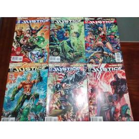 Justice League De Geoff Johns Y Jim Lee. Envio Gratis!