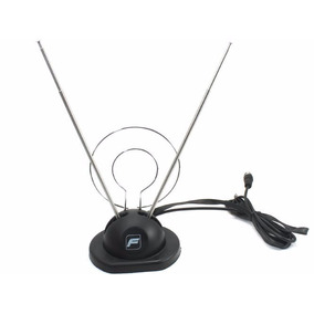 Antena Uhf Fussion An-9502 Con Doble Elemento Tipo Aro, Cabl