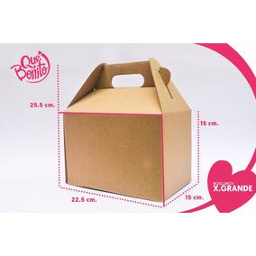 Caja Lonchera Boxlunch Carton Micro Mesa Eventos Extragrande