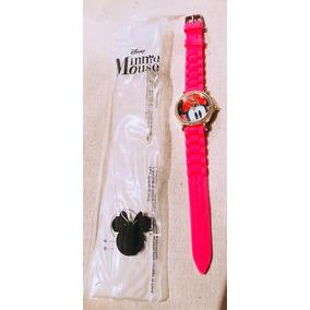 Reloj Minnie Mouse Disney Color Rosa