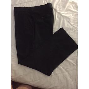 Pantalon De Vestir Color Negro Para Caballeros - Ropa 507e12d6d248