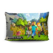 Funda De Almohada Minecraft 70x45cm Vudú Love