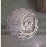 Doblón De Plata De 1973 De 10 Bs