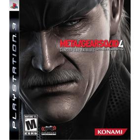 Jogo Metal Gear Solid 4: Guns Of Patriots - Ps3 - Seminovo