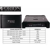 Amplificador Orion Serie Ztreet Modelo Zo5000.1d