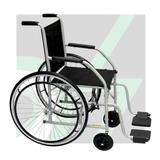 Cadeira De Rodas - Pneus Maciço - Mod. 101 - Cds