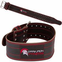 Cinturon Faja Pesas Crossfit Gym Trabajo Cuero Pro Ajustable