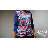 Blusa Camiseta Buso Originales Mujer Temporada Nuevas