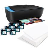 Hp Impresora Ultra 4729 Deskjet Con 6 Cartuchos + Resma