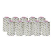 Hilo Kingtex 40/2 Para Costura Color Blanco Paq. De 10 Hilos