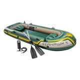 Bote O Lancha Inflable Intex Seahawk 4 Para 4 Persona Nueva