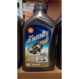 Aceite Shell 4t Advance Ultra 10w40 Sintético 1l (1000ml)