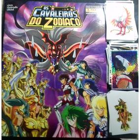 Album Cavaleiros Zodiaco Panini Completo Colar Figurinhas