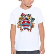 Camiseta Infantil Patrulha Canina Pronta Entrega Watc-03
