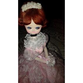 Muñeca,novia Musical Antigua.