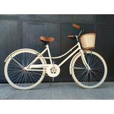 Bicicleta Paseo Rodado 26 Dama - Mujer Retro *envíos Gratis*