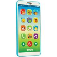 Baby iPhone Celular Bebê Educativo Azul Buba