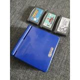 Game Boy Advance Sp Pokemon Perla Yu-gi-oh Y Mario Kart