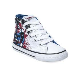 Zapatillas Chuck Taylor All Star S Heroes Superman Hi Bebe