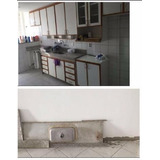 Bancada Granito Branco Ceara C/ Corte Cooktop Para Cozinha