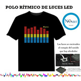 Polo Led Ritmico Ecualizador Luces Led Rítmicas