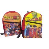 Mochilas Impresas Aventure Time Regular Show Y Dragon Ball Z