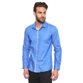 Camisa Manga Larga - Lob - 795060 - Azul