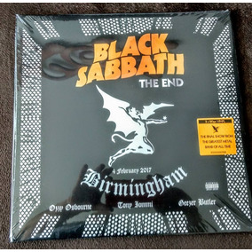 Black Sabbath, The End - Lp Triplo Importado, Pronta Entrega