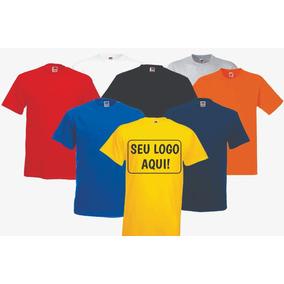 Camiseta Personalizada - Todas As Cores / Kit 10 Camisetas