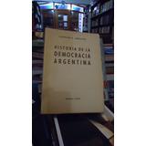 Historia De La Democracia Argentina - Ornstein, Leopoldo