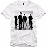 Camisa Camiseta De Rock U2 Banda Bono Vox The Edge Adam