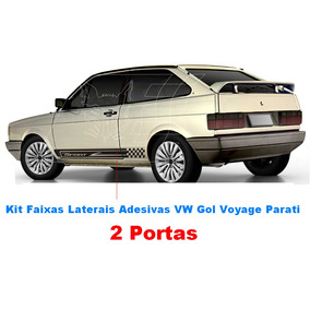 Kit Adesivo Faixa Lateral Vw Gol Voyage Quadradoacessorio