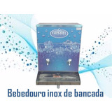 Bebedouro Industrial 20 Litros Inox Bancada Igreja, Academia
