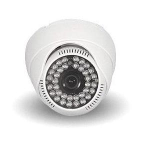 Camera Dome Ccd Sony 2000linhas Cftv Hd Led Infravermelho Ir