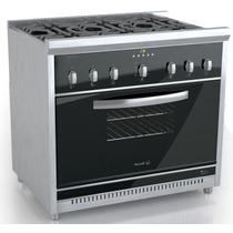 Cocina Morelli 900 Cristal Gn Control Digital Aguirrezabala