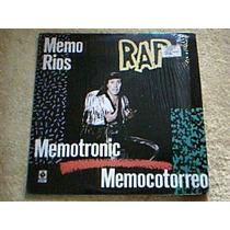 Disco Lp Memo Rios - Rap Memotronic Memocotorreo - Rap