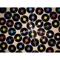 Lote De 50 Discos De Vinilo Para Decoracion Caba