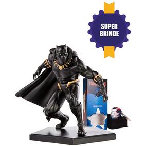Estátua Pantera Negra 1/10 - Marvel Comics - Iron Studios